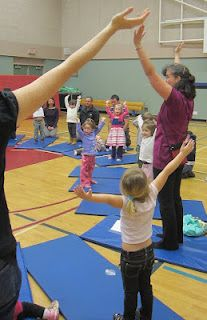 Combining yoga, self control, classroom management (and in this exercise, the life cycle of a seed!)