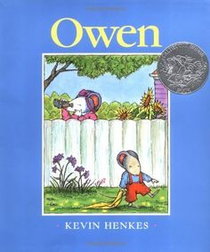 Owen (Caldecott Honor Book) by Kevin Henkes, http://www.amazon.com/dp/0688114490/ref=cm_sw_r_pi_dp_f14Srb0ZV73MS
