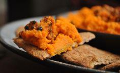 Hummus de zanahorias asadas