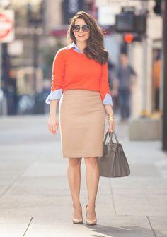 Oii gente... Tudo bem?! A pedido de uma leitora, o post de hoje está cheio de inspirações lindas, com saias, para usar no trabalho!! As no...