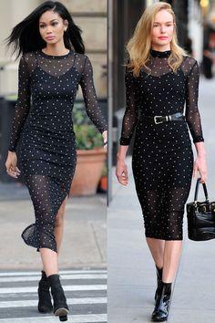 Chanel Iman vs Kate Bosworth in Kohl's K/lab $50 dress