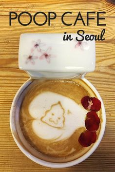 Enjoy a cup of crappy coffee in Seoul's poop themed cafe!