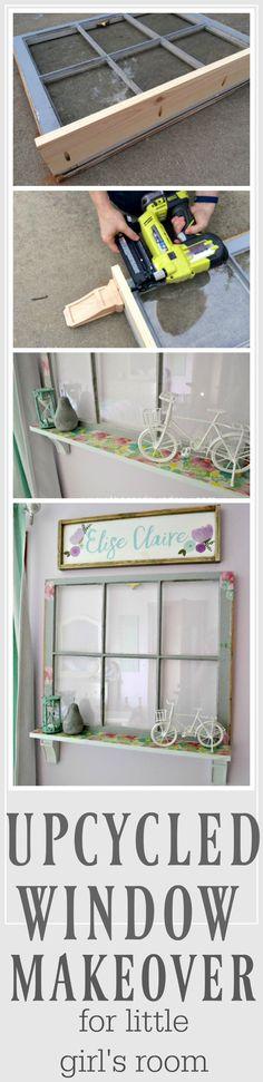 Upcycled Window Make