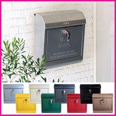 おしゃれ/郵便受け/【送料無料】アメリカンスタイルのU.S.Mailbox壁掛けポスト文字有スチールポスト郵便ポストTK-2075