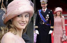 La princesa Letizia en la boda de los duques de Cambridge #royals #royalty #princess #spain