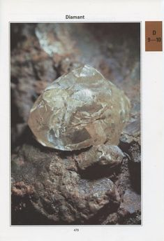 Vintage raw diamond mineral poster from Vintage geology art Rocks decor Rocks gift Gemmology Geology gift for men Mineralogy wall art Gift Guide For Men, Rock Decor, Mineralogy, This Is A Book, Raw Diamond, French Country Decorating, Book Pages, Botanical Art, Scientists