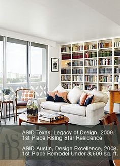 Amazing Love This Built In Bookcase By: 3 FOLD DESIGN STUDIO   Austin Interior  Design