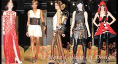 Beladonis Magazine - O'More College of Design 2012 Spring Fashion Show. | www.omorefashion.com