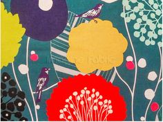 Japanese graphic print fabrics