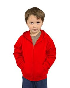 MONAG Infant Fleece Jacket with Hoodi 12m Red -- Find out more about the great product at the image link. (This is an affiliate link) #BabyBoyHoodiesandActive