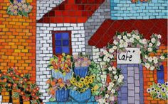 Gallery - The Clay Club Mosaic Projects, Ceramic Painting, Ceramic Plates, Diy Kits, Mosaic Tiles, Clay, Ceramics, Gallery, Landscapes