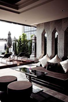 St.Regis Bangkok | kenkoon outdoor furniture by Paputh Nimchuar, via Behance