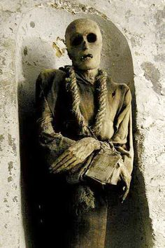 Palermo Mummy Capuchin Catacombs Palermo Italy