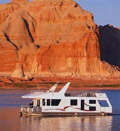 Lake Powell, Utah houseboat - get one with a hot tub!