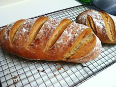 KEFIR SOURDOUGH BREAD      WOW! I created a new recipe for quicker sourdough bread that takes only 3 days (one day for starter) and no...
