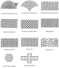 decorative stamped concrete design patterns