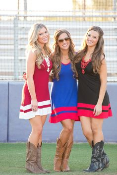 Cheering From The Sidelines Dress - Multiple Colors from Closet Candy Boutique