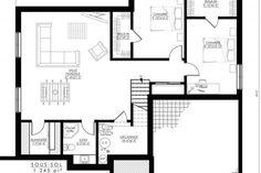Plan de Maison Moderne Ë_146 | Leguë Architecture Plane, Drummond House Plans, Best Investments, Architect Design, Unique Colors, Home Remodeling, Facade, My House, Floor Plans