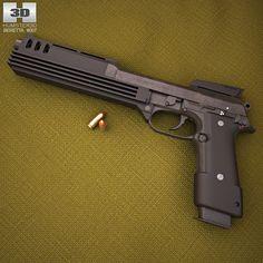 model of Beretta Auto 9 Weapons Guns, Guns And Ammo, Assault Weapon, Weapon Of Mass Destruction, Custom Guns, Fire Powers, Cool Guns, Firearms, Hand Guns