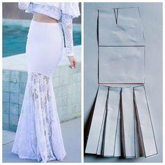 Baby Girl Dress Patterns, Dress Making Patterns, Skirt Patterns Sewing, Clothing Patterns, Diy Clothing, Sewing Clothes, Costura Fashion, Fashion Design Sketches, Fashion Sewing