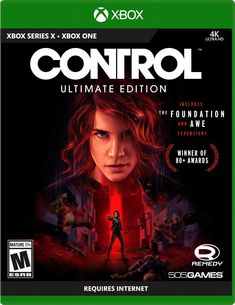 Control Ultimate Edition Playstation 5, Ps4 Or Xbox One, Game Mode, Federal Bureau, Relentless, Control, The Expanse, Stop It, Storytelling