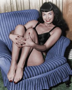 Bettie Page - her photos were so simple. The only thing making them great was her.