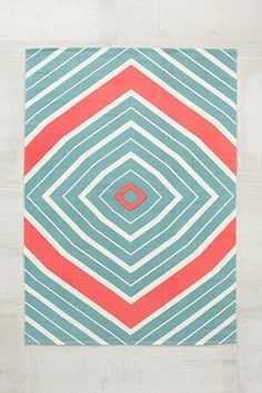 4040 Locust Radial Rug - Urban Outfitters