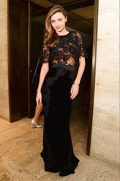 Miranda Kerr -NYFW Parties for Dior, Carine Roitfeld, Jason Wu, and H&M