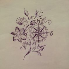 Compass rose because we are always searching for something