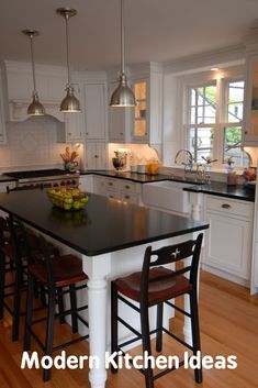Narrow Kitchen island Table How to Optimize Small Kitchen island as Table — Modern Design Narrow Kitchen Island, Rustic Kitchen Island, Diy Kitchen, Kitchen Ideas, Kitchen Modern, Small Island, Kitchen Decor, Kitchen Cabinets, Kitchen Black