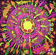 Trippy Psychedelic Art   Source: sender.fm