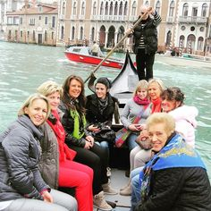 #venice #gondola #friends #family #great #weekend #throwbackthursday