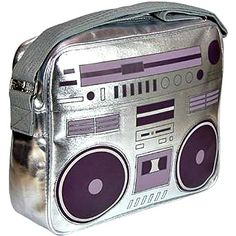 80s Ghettoblaster Shoulder Bag