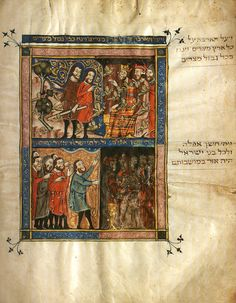 Rylands Haggadah: Medieval Jewish Art in Context - Richard McBee Artist and Writer