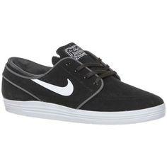 hippe Nike lunar stefan janoski heren sneakers (Zwart)