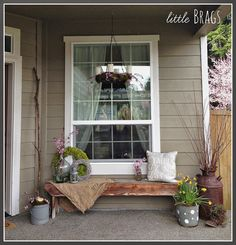 Little Brags: An Early Spring Porch