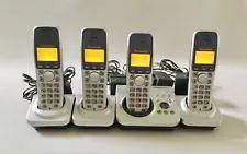 PANASONIC DIGITAL CORDLESS PHONE KX-TG7220E/ANSWERING MACHINE/3 EXTRA HANDSETS