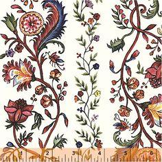 India Chintz c. 1730-1800, 27850-2, Windham Fabrics