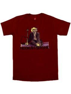 Hookah-Shisha Monkey Logo T-Shirt . Hookah Pipes, Monkey, Logo, Mens Tops, T Shirt, Supreme T Shirt, Hookahs, Jumpsuit, Logos