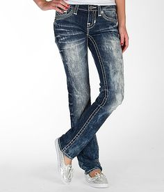 """Big Star Vintage Liv Straight Stretch Jean"" www.buckle.com"