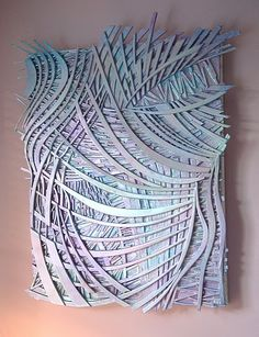 """Abstract Art """"Silverline"""" Mixed Media on Canvas ...BTW,Check this out: http://artcaffeine.imobileappsys.com"""