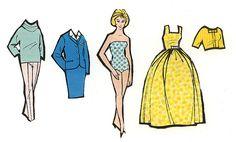 Påklædningsdukker 1964