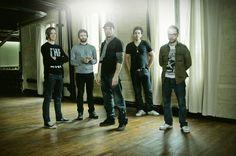 Photo de presse de Karkwa pour leur album «Les chemins de verre». Crédit Photo : Jimmi Francoeur.