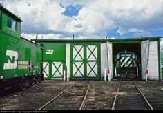 RailPictures.Net Photo: BN 6223 Burlington Northern Railroad EMD SD9 at Leadville, Colorado by Mike Danneman