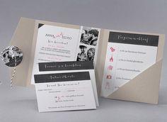 Hochzeitskarte - M40-001