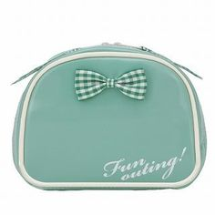 ROOTOTE Bow Pouch [AVION DE PAPIER - Gloss-B] Mint Green – One Size – Mint Green 1022649714