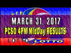 Watch the PCSO MidDay results video today, March 2017 (Thursday). The lotto games that are featured in this video are MidDay Results Lotto . Lotto Results, Lottery Tips, Online Business, Day, Youtube, April 22, February, Youtubers, Youtube Movies