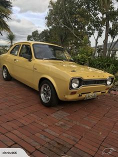 1972 Ford Escort Mexico for sale on Trade Me, New Zealand's auction and classifieds website Escort Mk1, Ford Escort, Cars Uk, Vw Cars, Car Competitions, Ford Classic Cars, Old Fords, Badger, Bicycles