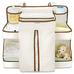 Nappy change #organiser #wipes baby accessories attach to cots door #changing tab,  View more on the LINK: 	http://www.zeppy.io/product/gb/2/321965606363/