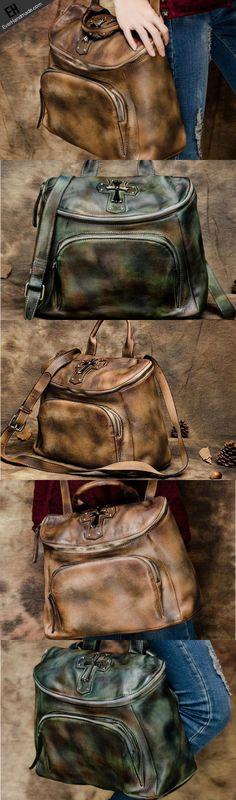 c41391c00c4 Handmade Leather handbag purse shoulder bag for women leather Designer Leather  Handbags, Gucci Handbags,